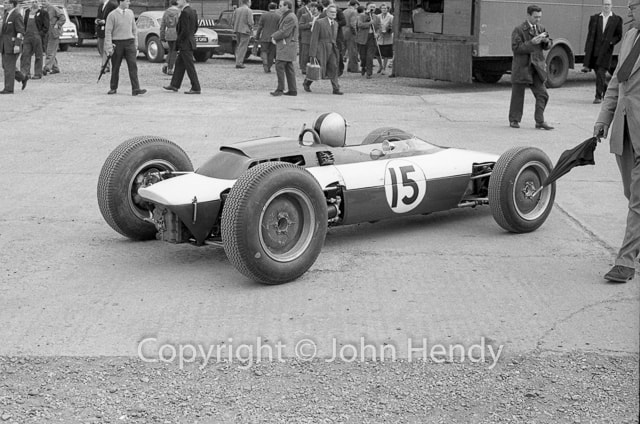 British GP 1963 / Tony Settember ( Copyright : John Hendy