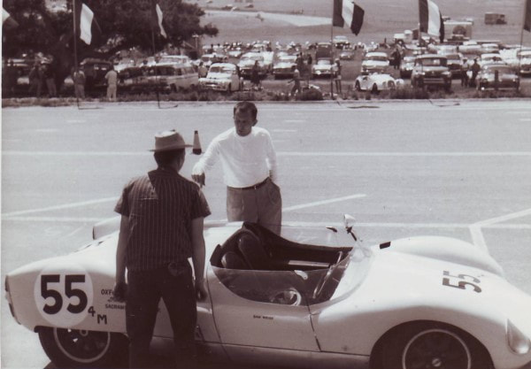 Sam Weiss - Cooper T49 CM/4/59 - Laguna Seca - (Photo by Ike Smith)