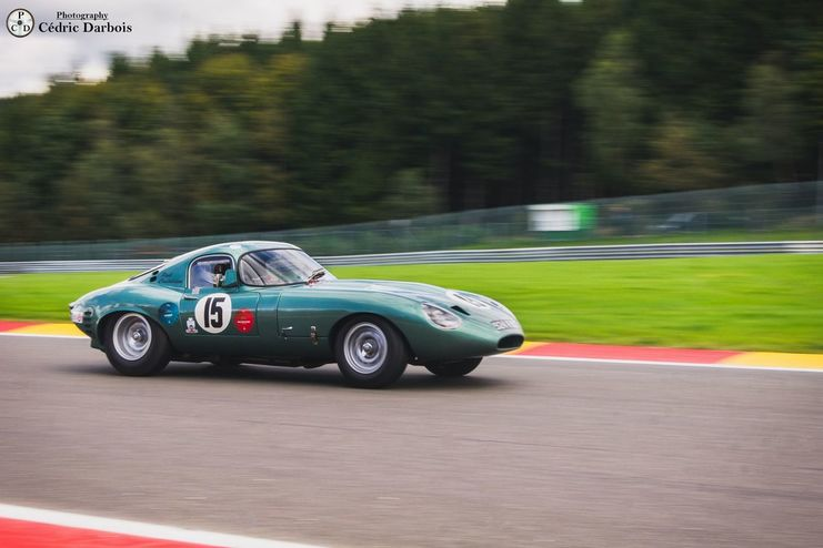 Paul Castaldini / Jaguar E-Type Lightweight Low Drag Coupe