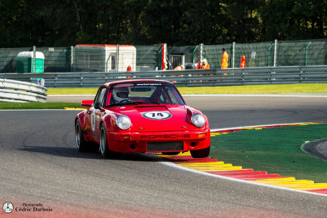 Mark Bates / James Bates // Porsche 911 Carrera RS 3.0
