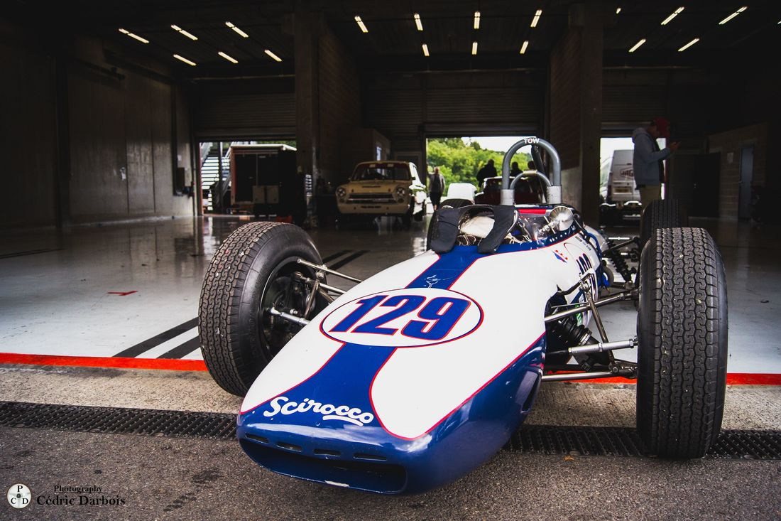Paul Woolley / Scirocco BRM F1